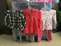 toddler's assorted clothes Edmonton, T5W 4S4