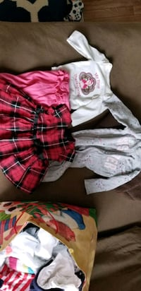 Baby girl clothes from non-sick home