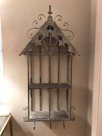 Metal shabby chic wall shelf Alexandria, 22307
