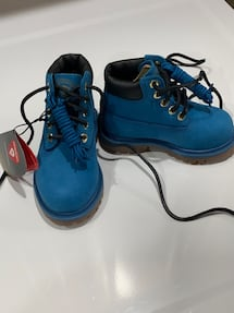 Brand new timberland boots for toddler-size 6