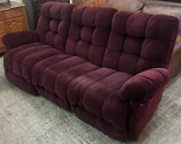 Electric Recliner Sofa with Tufted Back Philadelphia