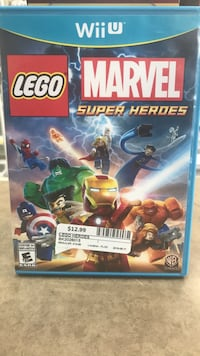 Wii U Lego Marvel Heroes @ BUY & SELL KINGS (AJAX)   Ajax, L1S 7K8