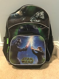 Brand new, never used Star Wars backpack with removable lunch box. Silver Spring, 20906