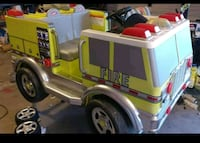First safety fire truck power wheels see video