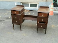 Old dressing make up table. Comes with large mirro