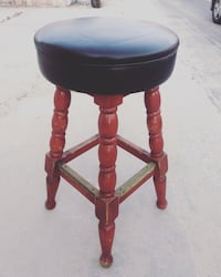 Iconic Wooden Barstool