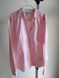 Pink shirt / Chemise rose Montreal