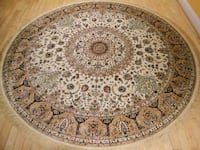 New 6x6  silk rug  carpet 38 km