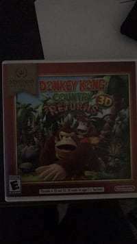 donkey kong nintendo 3ds Fountain Valley, 92708