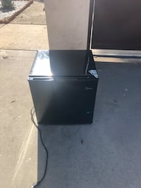 Black and gray compact refrigerator Los Angeles, 91401