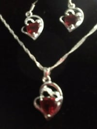 Special Silver Double Hearts For Mother's Day