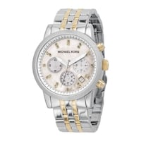 Brand New Michael Kors two toned (silver & gold) women watch for sale.  Anaheim, 92801
