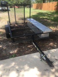 Lawnmower 4x6 trailer with tool box Floresville, 78114