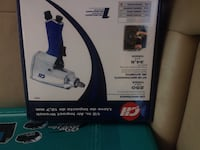 black and blue Bissell upright vacuum cleaner box St Thomas, N5P 3M3