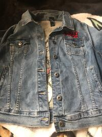 Mickey Mouse Jean Jacket Spruce Grove, T7X 1B9