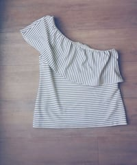 Ann Taylor One Shoulder Striped Top Toronto, M4S 1C1