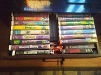 assorted DVD movie case lot Marion, 78124