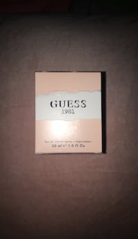 GUESS 1981 PERFUME NEW IN BOX WITH ORIGINAL PLASTIC SEAL  Arlington, 22204