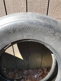 Semi trailer tires 295/75r22.5 Piedmont, 43983
