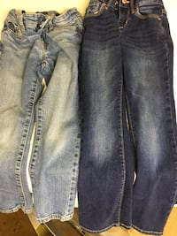 Blue denim straight-cut jeans Youngstown, 44512