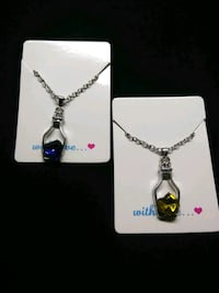Bottle/Heart Fashion Necklaces 2 colors Dayton, 45410