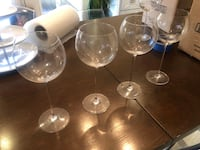 Camille 23 oz wine glasses  Toronto, M6M 2Y8
