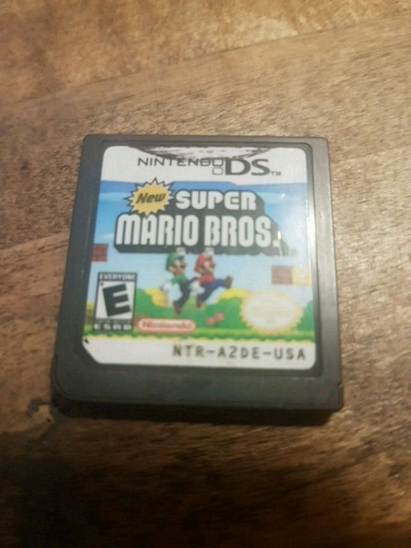 Nintendo DS  ( Super Mario Bros ) game