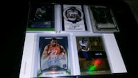 four assorted football trading cards Marysville, 98270
