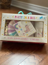 Unicorn Themed Party In a Box