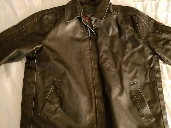 5574d9ffd whispering smith 1967 leather jacket x/l
