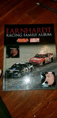 Dale Earnhardt racing family album book