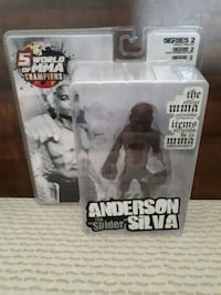 World of MMA Champions Anderson Silva figure.  Whitby, L1P 1A1