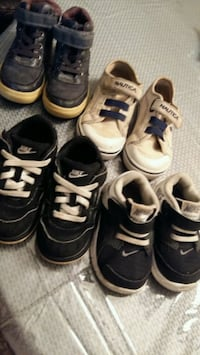 toddler's four pairs of shoes Houston, 77014