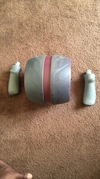grey and pink ab roller Los Angeles, 90044