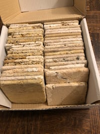 Tumbled marble 4x4 tiles,great for decor project.under$1 per tile! Toronto, M2P 1E4