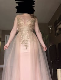 Pink and gold prom dress Welland, L3C 3C9