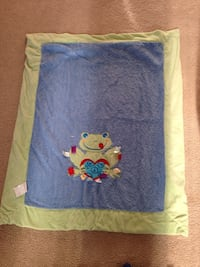 green and blue with frog print towel Brampton, L6R