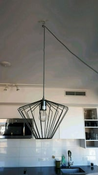 Pendant lamp with light switch
