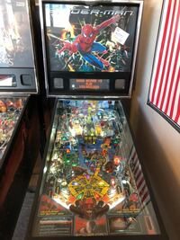 Spider-Man Pinball Machine Lutz, 33559
