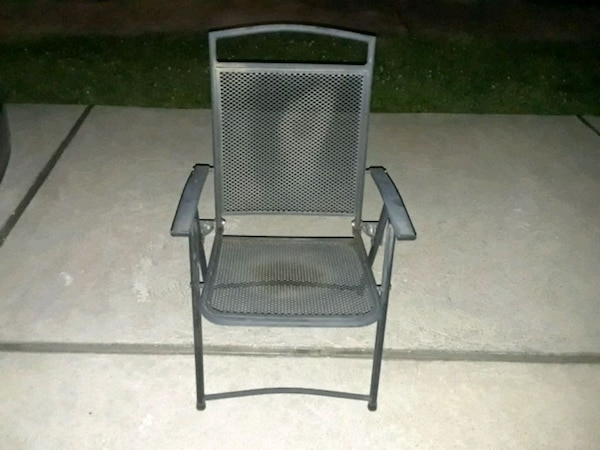 Excellent Super Sturdy Metal Foldable Patio Chairs Bralicious Painted Fabric Chair Ideas Braliciousco