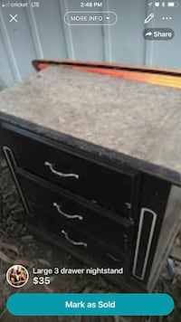 black and gray wooden cabinet Fresno, 93711