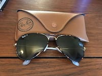 Black ray-ban aviator sunglasses with case Boulder