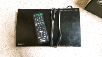 Smart blue ray dvd with remote