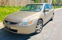 * Slightly Negotiable ** 2003 Honda Accord Leather Sunroof Clean Title no check engine light  Riverdale Park