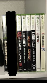 Xbox 360 Games  Hanford, 93230