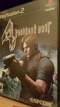 Playstation 2 resident evil 4 game Burnaby, V3N 2E2