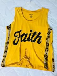 yellow and black Adidas tank top Chantilly, 20151