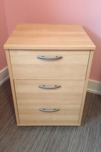 Small 3 Drawer Chest (on wheels)