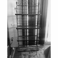 Vintage Wrought Iron Shelf Rack Alexandria, 22309