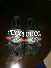 pair of black Gucci slide sandals Columbia, 29209